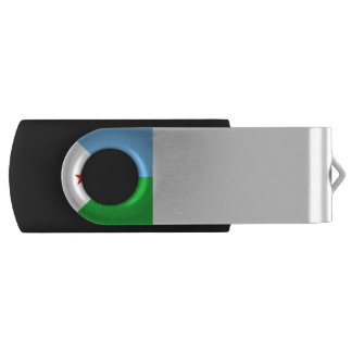 Djibouti Flag USB Flash Drive