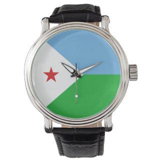 Djibouti Flag Watch