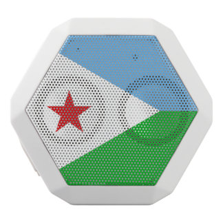 Djibouti Flag White Bluetooth Speaker