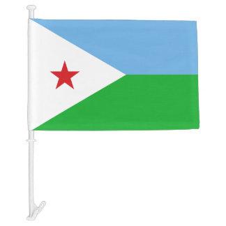 Djibouti National World Flag Car Flag