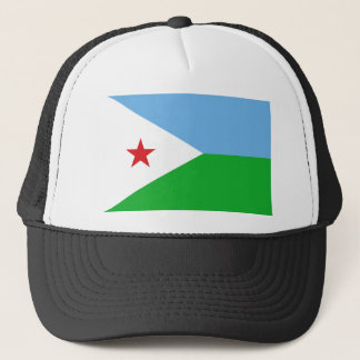 Djibouti National World Flag Trucker Hat
