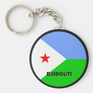 Djibouti Roundel quality Flag Key Ring