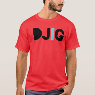 """DJIG """"Nows my time"""" RED T-Shirt"""