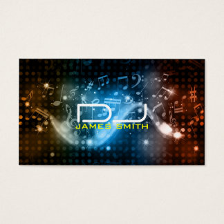 DJ's Business Card