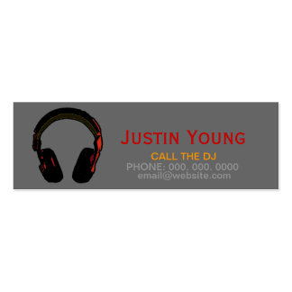 djs / deejays / electronic music business cards
