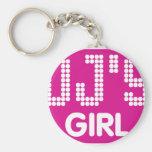 Dj's Girl Keychain