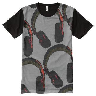 dj's headphone All-Over print T-Shirt