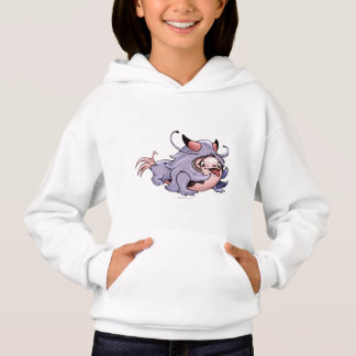 DJUMAN ALIEN CARTOON Hoodie Girl