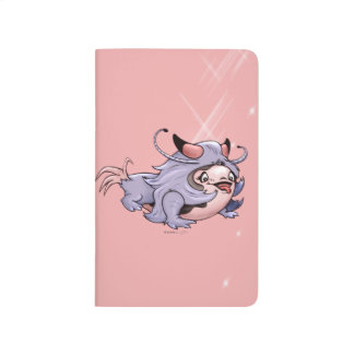 DJUMAN ALIEN CARTOON Pocket Journal monster