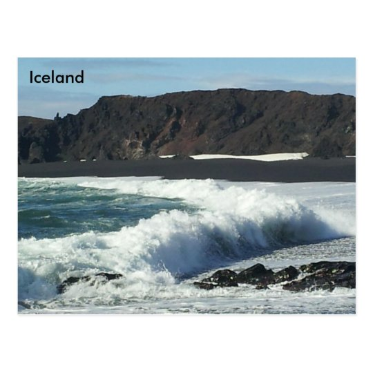 Djúpalónssandur and Dritvík, Snæfellsnes, Iceland Postcard
