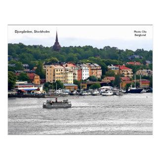 Djurgården, Stockholm, Photo Ola ... Postcard