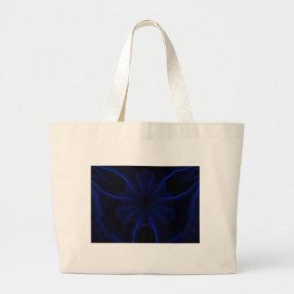 Dk. Blue laser Large Tote Bag