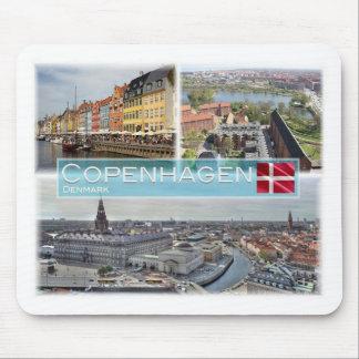 DK Denmark - Copenhagen - Nyhavn - Mouse Pad