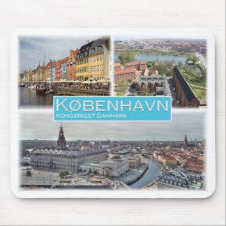DK Denmark - København - Nyhavn - Mouse Pad