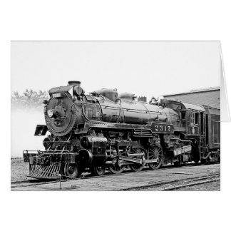 DL & W RR Scranton Pa. Greeting Card