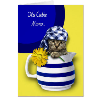 Dla Ciebie Mamo. Polish Mother's Day Cards