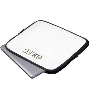 #DLEG Camo Computer-sæk Laptop Sleeve