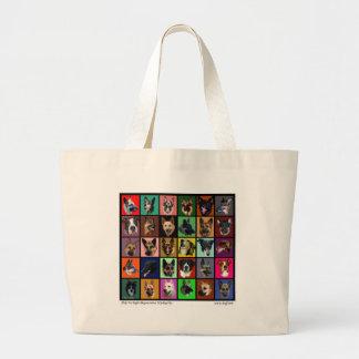 DM Rainbow Souls Jumbo Tote Bag