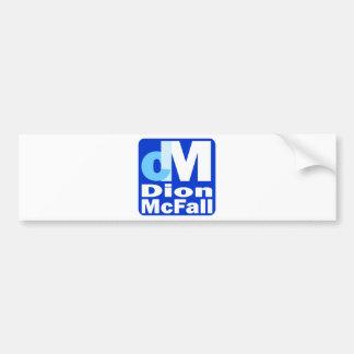 dmcfall_logo bumper sticker