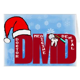 DMD SANTA - CHRISTMAS CARD DOCTOR DENTAL MEDICINE