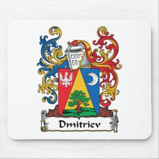 Dmitriev Family Crest Mouse Pad