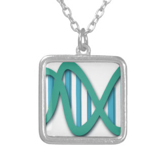 dna-308919 silver plated necklace