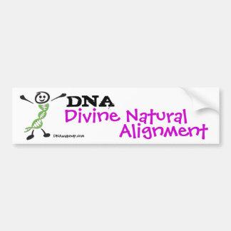 DNA Alignment Dan Bumper Sticker