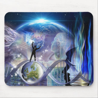 DNA Awakening design Mouse Pad