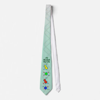 "DNA ""Bonded for Life"" Tie (Base Pair Molecules)"