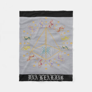 DNA Healing/Activation Fleece Blanket