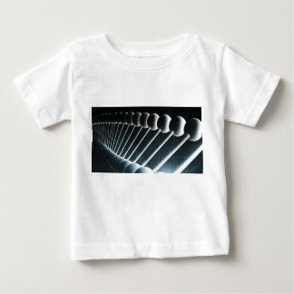 DNA Helix Abstract Background as a Science Concept Baby T-Shirt