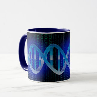 DNA ID Blue Mug