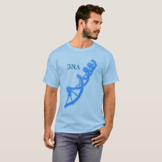 DNA in Blue T-Shirt