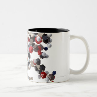 DNA Model Two-Tone Coffee Mug