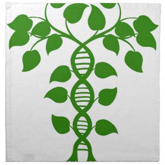 DNA nature plant Napkin