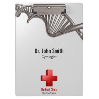 DNA Professional Medical Red Cross - Clipboard