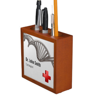 DNA Professional Medical Red Cross Desk Organizer