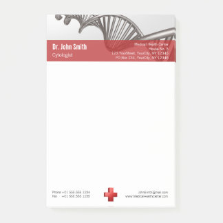 DNA Professional Medical Red Cross - Post-it® Note