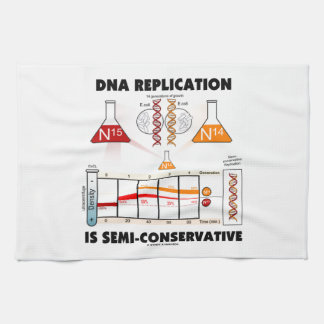 DNA Replication Is Semi-Conservative Tea Towel