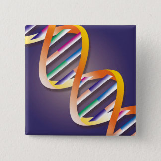 DNA Spotlight 15 Cm Square Badge
