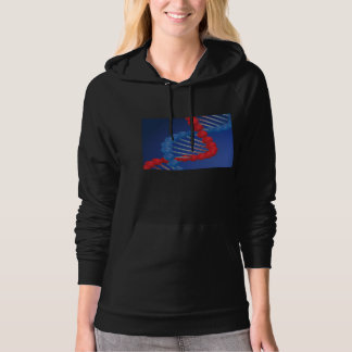 DNA Strand Womens Hoodie