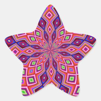 DNA Twist Star Sticker
