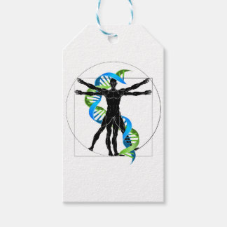 DNA Vitruvian Man Gift Tags