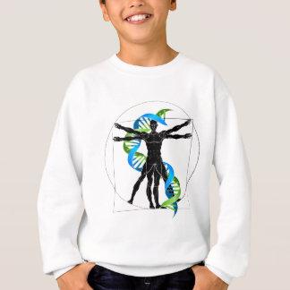 DNA Vitruvian Man Sweatshirt