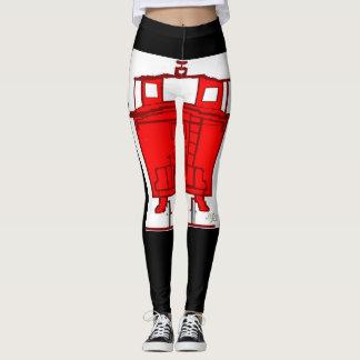 DNatureofDTrain Caboose leggings