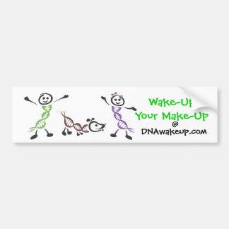 DNAwakeup Bumper Sticker