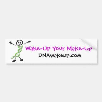 DNAwakeup Dan Bumper Sticker