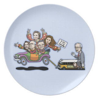 DNC Clown Car Plate