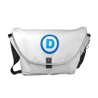 DNC D SYMBOL.png Messenger Bag
