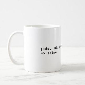[:do, :do_not].include?(:try) => false mug
